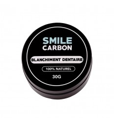 Charbon Actif - Blanchisseur de dents naturel 30gr - SMILE Carbon