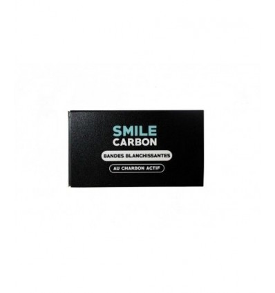 Bandes Blanchissantes au charbon actif - 14 JOURS - SMILE Carbon