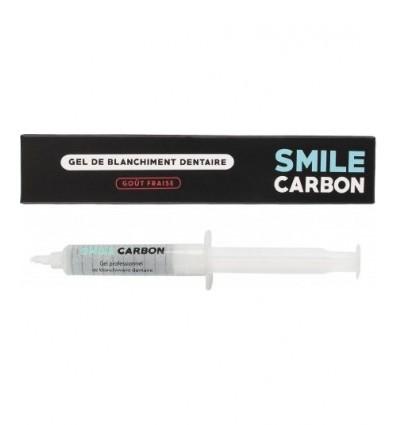 Gel de Blanchiment Dentaire - 10ml - Recharge Goût Fraise - SMILE Carbon